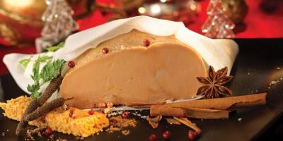 photo Foie gras poché aux épices de pain d'épices
