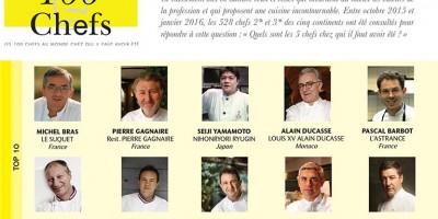 photo Les 100 Chefs, un classement mondial réalisé par les chefs pour les chefs