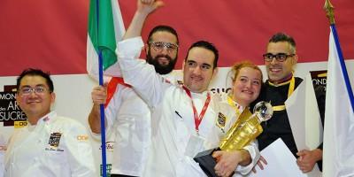 photo L'Italie devient Championne du Monde des Arts Sucrés 2016 !