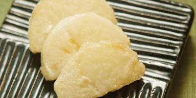 photo Le radis blanc dans la cuisine des temples bouddhistes coréens