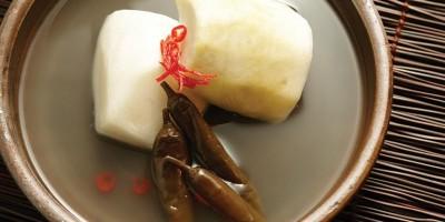 photo Kimchi de navet à l'eau