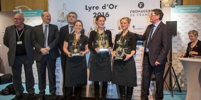 photo La Lyre d'Or, Virginie, Cindy et Lucie, 3 femmes sur le podium !