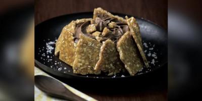 photo Tartelette nougatine et mousse au chocolat