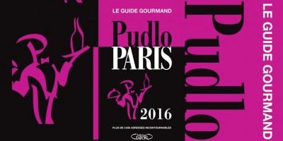 photo Guide Pudlo 2016, exploration des bonnes adresses gourmandes parisiennes
