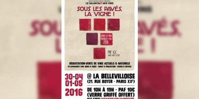 photo Sous les pavés la vigne, Le salon Rue89 des vins c'est ce week-end à Paris