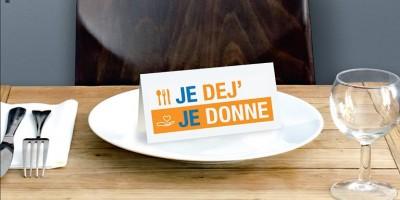 """photo L'opération solidaire """"Je Déj, Je Donne"""" débute ce vendredi 23 septembre partout en France"""