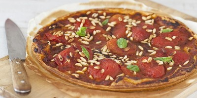 photo Tarte fine à la tomate