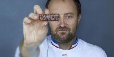 photo Patrick Roger pour Frichti, quand un chocolatier hors normes s'invite chez vous !