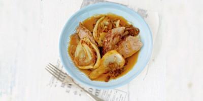 photo Filet mignon de porc à la moutarde et au fenouil caramélisé par Luana Belmondo