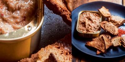 photo Rillettes de sardines par Julien Duboué, recette extraite de son livre Sud-Ouest