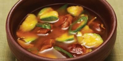 photo Recette detox - Ragoût à la pâte de soja fermentée et à la courgette