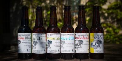 photo Bières de la brasserie de La Motte Juillet