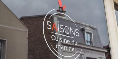 photo Restaurant Saisons, cuisine du marché, 92 Asnières-sur-Seine
