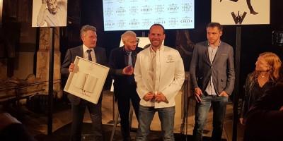 photo Greg Marchand, lauréat 2017 du Prix Champagne Collet du livre de Chef