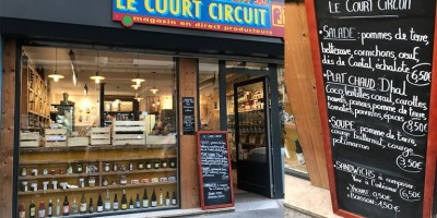 photo Le Court Circuit, nouvelle épicerie, table d'hôte, Paris 10