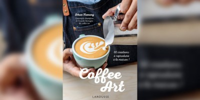 photo Coffee art par Dhan Tamang, aux Editions Larousse