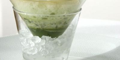 photo Huîtres du bassin, concombre et caviar d'Aquitaine