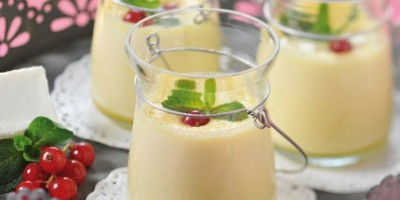photo Petit pot de crème vanille au Carré Frais