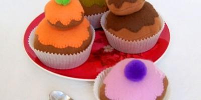 photo Des gâteaux en feutrine à croquer