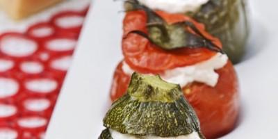 photo Légumes farcis au Parmesan