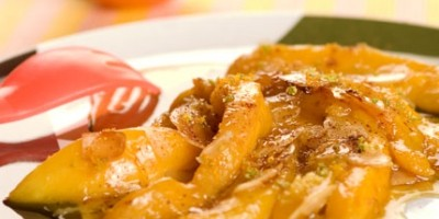 photo Wok de Mangues au miel