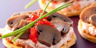 photo Tartelettes fines de champignon