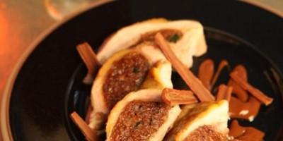 photo Filets de pintade farcis au pain d'épices