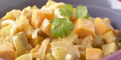 photo Curry de pommes de terre à la Thaï