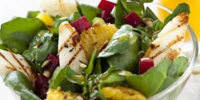 photo Salade d'halloumi et d'oranges aux graines de fenouil