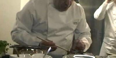 photo Mille feuilles au pastrami de boeuf et à la crème d'oignon