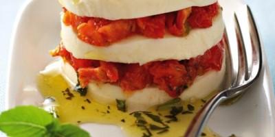photo Caprèse aux tomates séchées