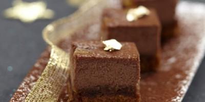 photo Cheese Cake au chocolat et à l'orange confite