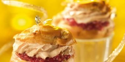 photo Mini choux au foie gras
