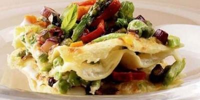 photo Lasagnes gratinés aux légumes