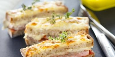 photo Croque-monsieur d'agneau et sa purée de tomates