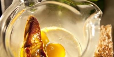 photo Oeufs cocottes au foie gras