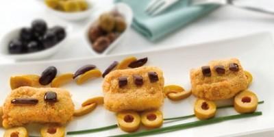photo Bouchées de poisson pané aux olives d'Espagne
