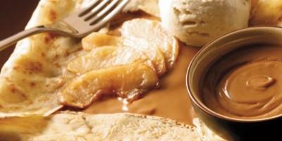 photo Crêpes aux pommes caramélisées et Speculoos à tartiner