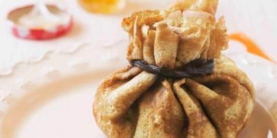 photo Aumônières aux pommes, chocolat et Marmelade d'Oranges Amères