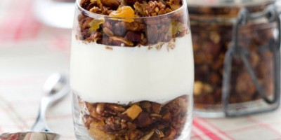 photo Granola Cannelle Noisette