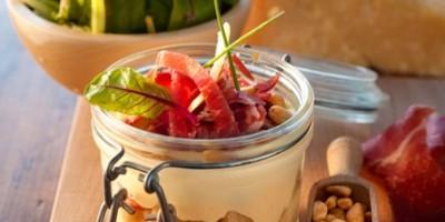 photo Tiramisu parmesan, coppa et pignons de pin Galbani