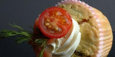 photo Cupcake Saumon & Aneth