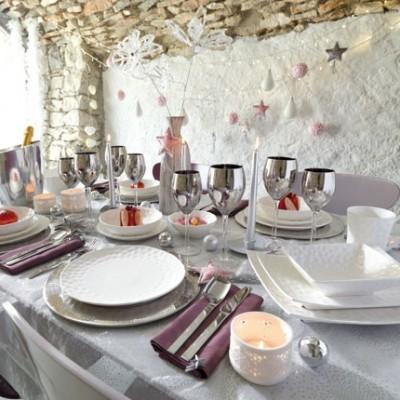 Id es d coration tables de no l 2011 - Idee decoration table noel ...