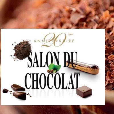Le salon du chocolat f te ses 20 ans porte de versailles for Porte de versailles salon artistique