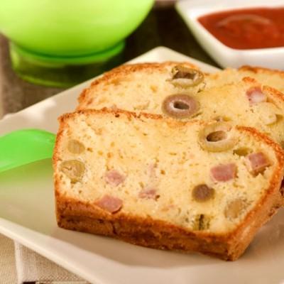 cake jambon olives la sauce tomates. Black Bedroom Furniture Sets. Home Design Ideas