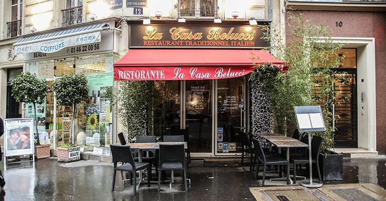 restaurant italien la casa belucci paris 17. Black Bedroom Furniture Sets. Home Design Ideas