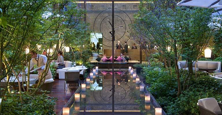 10 terrasses et jardins au soleil pour profiter de paris l t for Restaurant au jardin paris