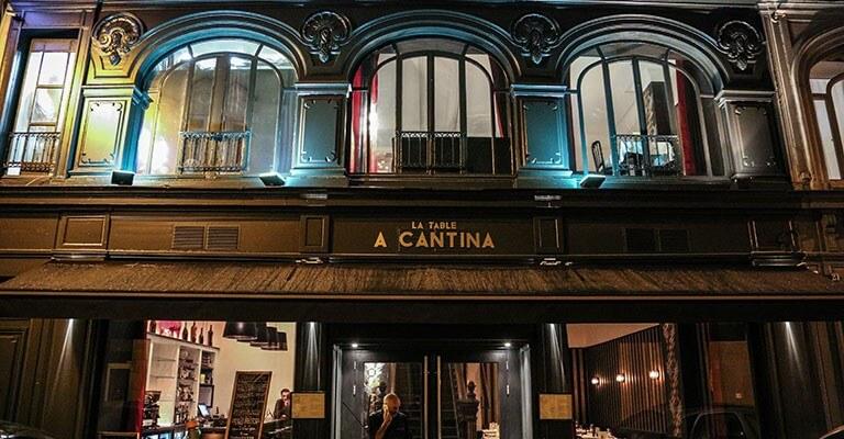 La Table A Cantina   U00e0 Bordeaux