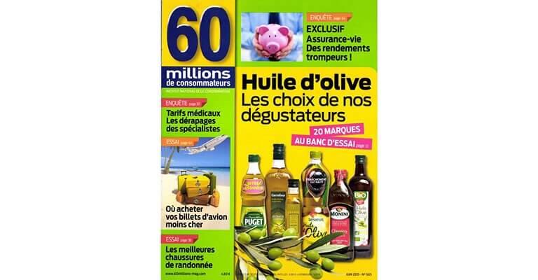monini lue meilleure huiles d olive extra vierge par 60 millions de consommateurs www. Black Bedroom Furniture Sets. Home Design Ideas