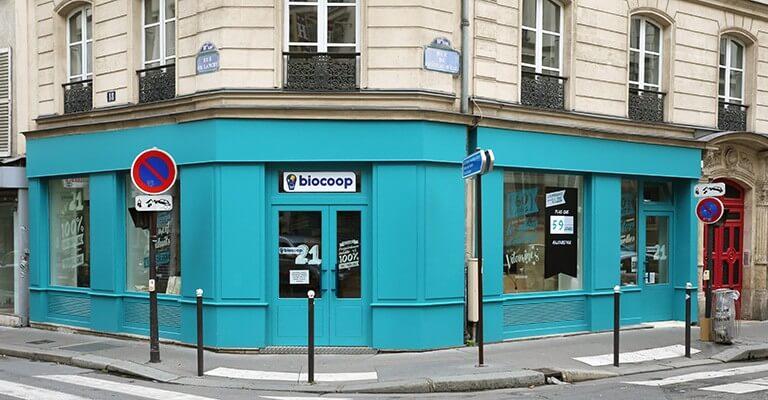 biocoop21 une boutique ph m re 100 bio et vrac ouvre paris. Black Bedroom Furniture Sets. Home Design Ideas